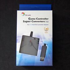 Brook PS2 Controller Adapter to for PS4 Console  No Need Original PS4 Controller