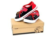 Youth Boys Sz 1-2 BLACK PANTHER//AVENGERS//SPIDERMAN Sneakers Toddler Sz 10-13