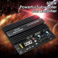 600W high-power Audio Momo amplifier Board Car Home Subwoofer Super Bass Amp