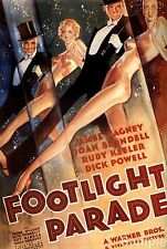 James Cagney Footlight Parade Vintage Film Cinema Movie Poster Print A4