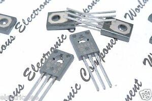 4pcs - HITACHI 2SB649A 160V 1.5A 1W PNP Transistor - Genuine NOS