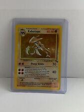 New listing Kabutops 1999 Fossil Set Holo Near Mint Rare Pokemon Card 9/62 Psa Wotc Tcg