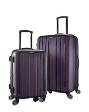 2Pc Samsonite ExoFrame Hardshell Spinner Suitcase Luggage Set Purple 71cm & 51cm