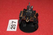 Juegos taller Warhammer 40k caos marines espaciales Dreadnought Hellbrute metal fuera de imprenta