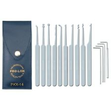 Pro-Lok PKX-14 - 14 Piece Pick Set & Case, 1/Ea. NEW