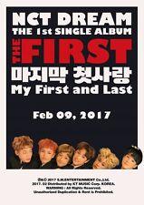 K-POP NCT DREAM 1st Single Album - [The First] CD + Photobook + Photocard Sealed