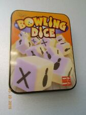 Fundex Bowling Dice Game in Tin, Complete
