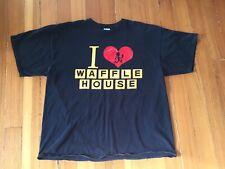 Rare vtg Insane Clown Posse I Love Waffle House I Stab People T Shirt 2Xl Xxl