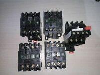 4 contactor - TELEMECANIQUE LC1 D179 - 7,5 KW - 380 V BOBINA A 127 VOLT + RELE