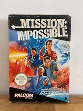 MISSION IMPOSSIBLE GIOCO NINTENDO NES PAL BOX SCATOLA