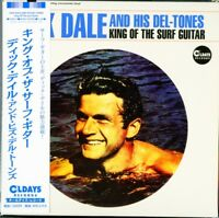 DICK DALE AND HIS DEL-TONES-KING OF THE SURF...-JAPAN MINI LP CD BONUS TRACK C94