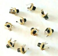 Lot of 8 guitar amplifier 1/4 inch jacks 1 inch long