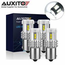 4x AUXITO 1156 BA15S Signal Reverse Brake Parking Light Bulb 6000K Super Bright