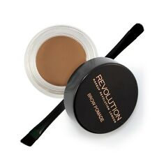 Makeup Revolution Brow Pomade Eyebrow Liner HD Brow Gel With Brush Soft Brown