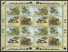 Timbres Animaux Nations Unies Vienne F 182/5 ** année 1994 lot 4210