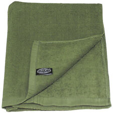 MFH LARGE 110X50CM MILITARY TERRY CLOTH HUNTING CAMPING COTTON TOWEL OLIVE GREEN