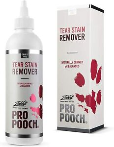 Pro Pooch Dog Tear Stain Remover, Remove Eye Residue & Prevents Stains
