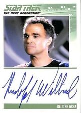 2015 Star Trek TNG Portfolio Prints Rudolph Willrich as Reittan Autograph Card