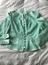Vintage Dynasty 80s ESCADA Couture jacket skirt suit 36