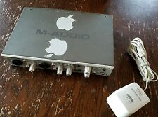 M-Audio FireWire 410 4-In/10-Out FireWire Recording Interface Used
