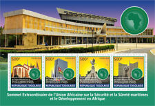 Togo 2017 MNH Lome Extraordinary Summit African Union 4v M/S Archicture Stamps