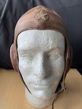 WW2 Imperial Japanese Army Air Force Pilot Summer Flight Helmet