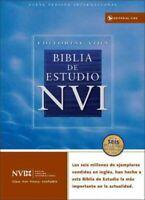 Biblia De Estudio NVI / NVI Study Bible : Nueva Version Internacional, Imitac...