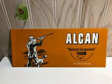 Alcan matched components for reloading shot shells rifle & pistol 1967 retail pr