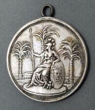 Minerva zu Den Drei Palmen Leipzig Lodge Silver Masonic Medal Three Palms 1766