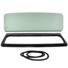 New Green Tinted Windshield Glass with Frame & Seal Kit For Jeep CJ5 1976-1983