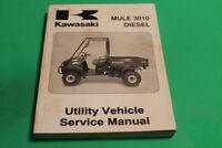 NOS OEM Kawasaki Service Manual KAF950 Mule 3010 Diesel 18CH 03-03 99924-1306-01
