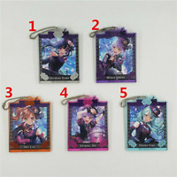 Anime BanG Dream! Acrylic Keychain Key Ring Race Straps Cosplay