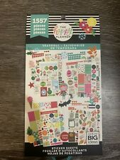 New listing Me & My Big Ideas Ppsv-04 The Happy Planner Seasonal Sticker Sheets 1557 New!