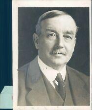 1929 Photo Arthur Henderson Member Labor Cabinet Candidate Politics Parliament