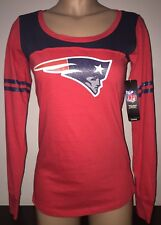 NEW ENGLAND PATRIOTS NFL Womens Long Sleeve T-Shirt M, L
