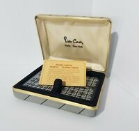 Vintage 1977 Pierre Cardin Two Deck Playing Cards Set
