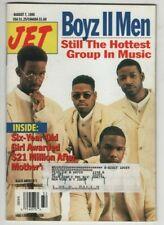 Jet Magazine Boyz II Men August 7, 1995 062220nonr