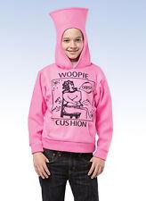 Ha Ha HOODIE by Rasta Imposta WOOPIE CUSHION Pink Hoodie Child - (7-10)