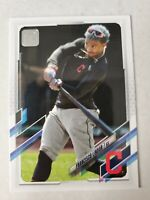 Francisco Lindor 2021 Topps Series 1 SP Short Print Photo Variation