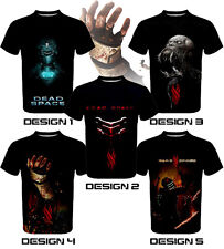 Dead Space: Isaac Clarke Custom T-SHIRT / JERSEY - PS3 XBOX game theme