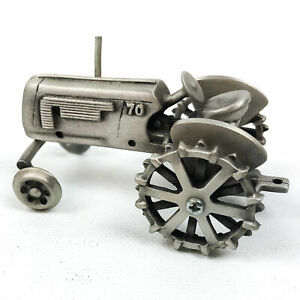 SpecCast Pewter Toy Tractor Oliver 70 Collectible Farm Toy 1/43 Wide Front End