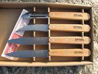 Opinel Küchenmesser-Set 4-tl. Schälmesser Messer Messerset Kochmesser 254152