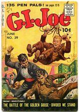 G.I. Joe #39 1955 - Ziff-Davis  -VG- - Comic Book
