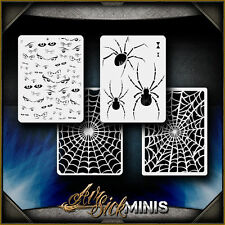 """Mini Creepers"" Airbrush Stencil Template Airsick"