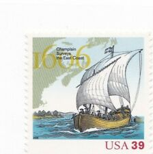 .39 cent US Stamp # 1606 Champlain Surveys the East Coast