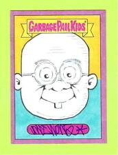 2018 GARBAGE PAIL KIDS WE HATE 80'S AUTO COLOR ARTIST SKETCH 1/1 GREGORY TILSON