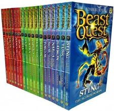 Beast Quest Collection (Series 1-3) 18 Books (Beast Quest) [Paperback]