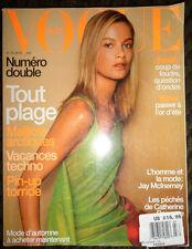 Vogue Paris 1999 Aurelie Claudel Angela Lindvall Eugenia Silva John Waters elle