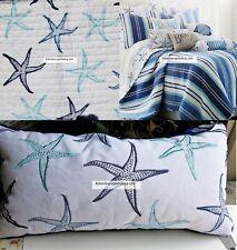 Starfish 4pc King Quilt ~ Blue Aqua ~ Beach House Tropical New 100% Cotton