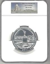 2011  Gettysburg 5 oz Silver MS 69 DPL NGC
